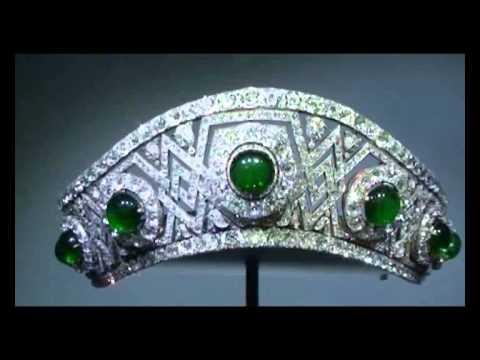 Diamond Emerald Tiara Grand Duchess Elizabeth Fyodorovna of Russia| Imperial Romanov Jewel History