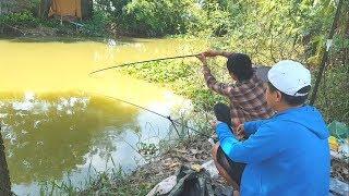Xem cá giếc cắn câu phao bềnh – câu cá sông