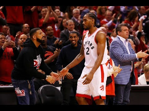 Drake Lost It After Nasty Kawhi Leonard Step-Back In Game 5 ECF