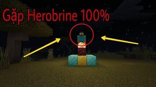 Top 5 cách để gặp Herobrine nhanh nhất trong Minecraft !!!