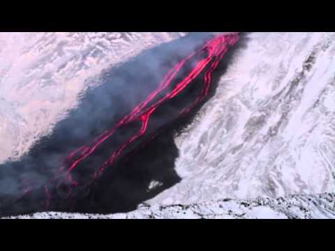 Raw: Italy's Mount Etna Erupts
