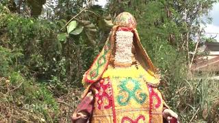 egoungoun baba edja au BENIN (DAHOMEY) terre du vodoun
