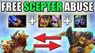 Free Aghanim's Scepter for your team [Alchemist + Tempest Double Abuse] Dota 2 Ability Draft