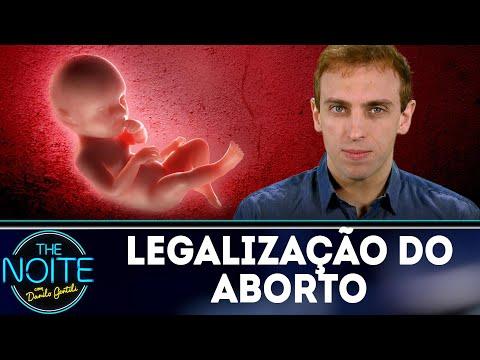 Léo Lins discute a legalização do aborto | The Noite (26/07/18)