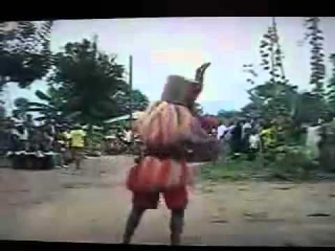 Ogoni S.E Nigeria - Karikpo Masquerade