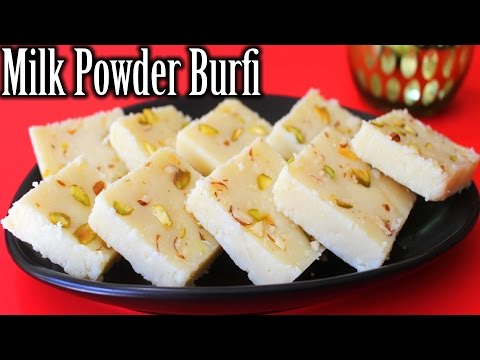 Milk Powder Burfi Recipe | Easy Burfi Recipe | Diwali Sweets Recipe | How To Make Milk Powder Burfi
