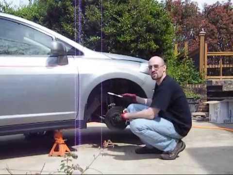 Installing Nissan Versa Front Lowering Springs Youtube