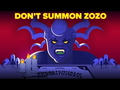 The Zozo Demon - What You Should Know Before Using a Ouija Board