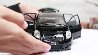 Unboxing of Toyota Yaris/Vitz 1:18 Scale Diecast Model Car