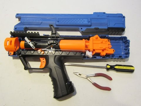 Mod Guide How To Modify The Nerf Rival Apollo Xv 700 Youtube