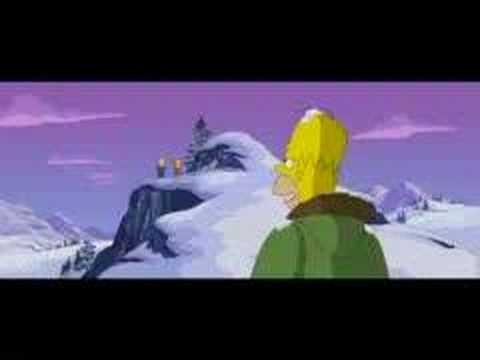 Simpsons Clip 1 Avalanche Youtube