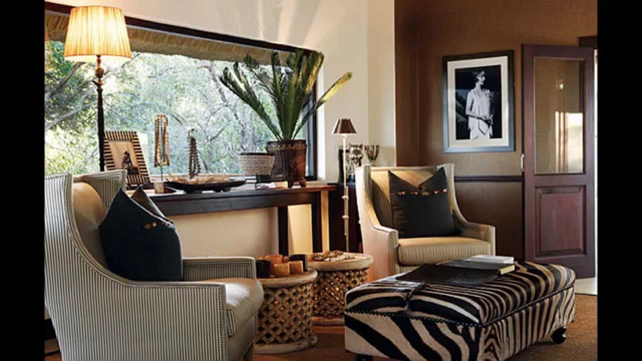 Ernest Hemingway Decorating Style Cool African Home Decorating Ideas Youtube