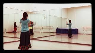 ファンダンゴ・デ・ウェルバを1人で踊ってみたー