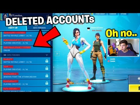 AntiSnow is DELETING Everyone's Fortnite Accounts.. (July 6th)