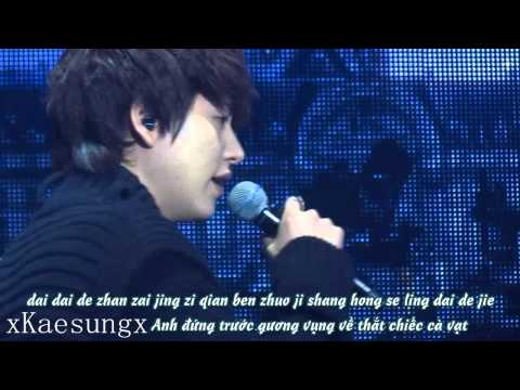 [Vietsub + Kara] 130119 Kyuhyun - Those years / Na xie nian (with Henry)