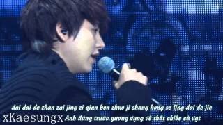 [Vietsub + Kara] 130119 Kyuhyun - Those years / Na xie nian (with Henry)