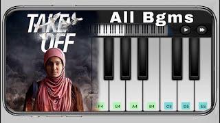 Take Off All Bgm Piano | Take off | Malayalam | Gopi Sundar