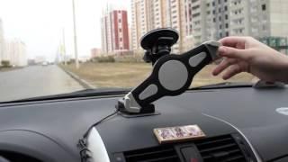 AvtoGSM.ru Автомобильный держатель AvtoGSM Car Holder 22(Представленная модель держателя предназначена для крепления планшета на лобовое стекло с помощью вакуумн..., 2015-10-16T14:08:25.000Z)
