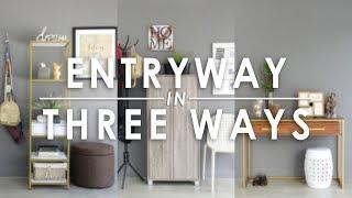 Entryway In Three Ways - Mandaue Foam Home TV