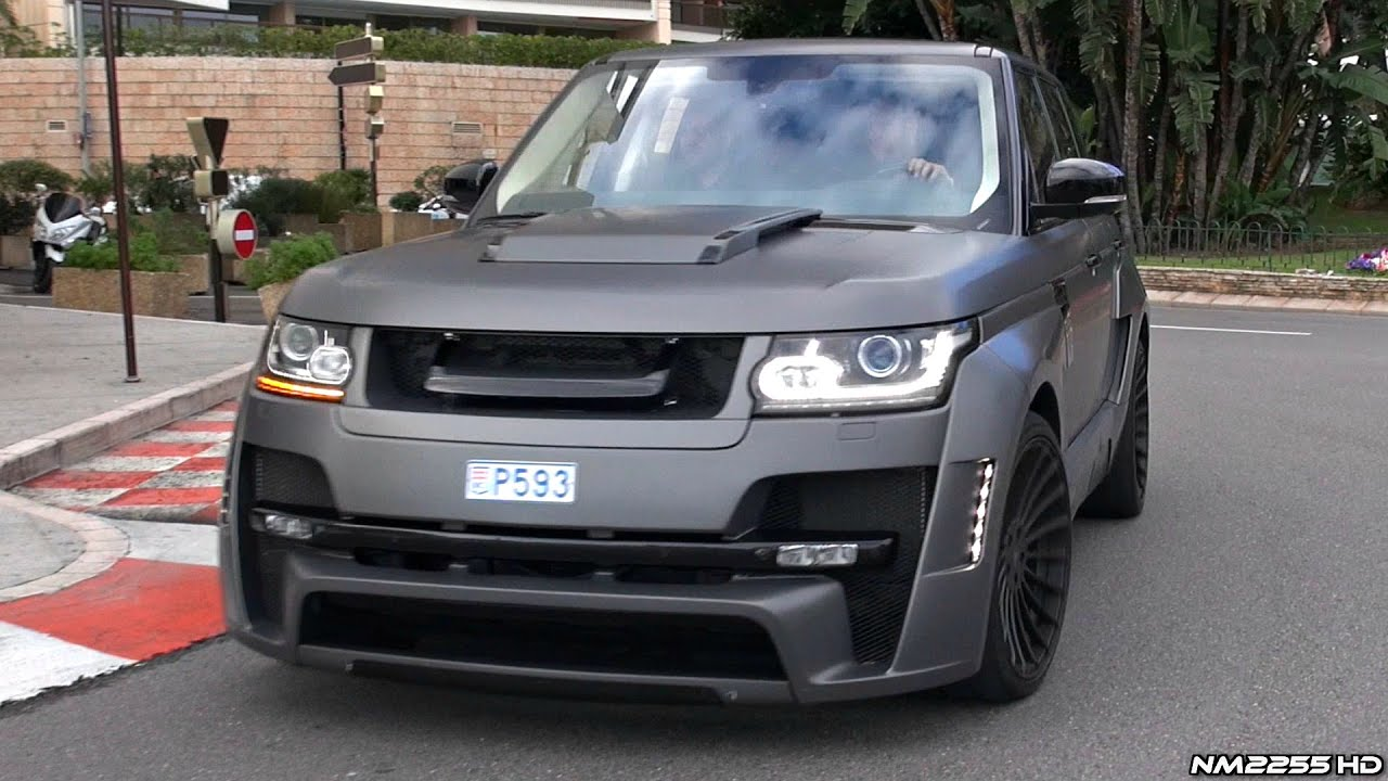 Hamann Mystere Range Rover 5 0 V8 Start Up Rev & Driving in