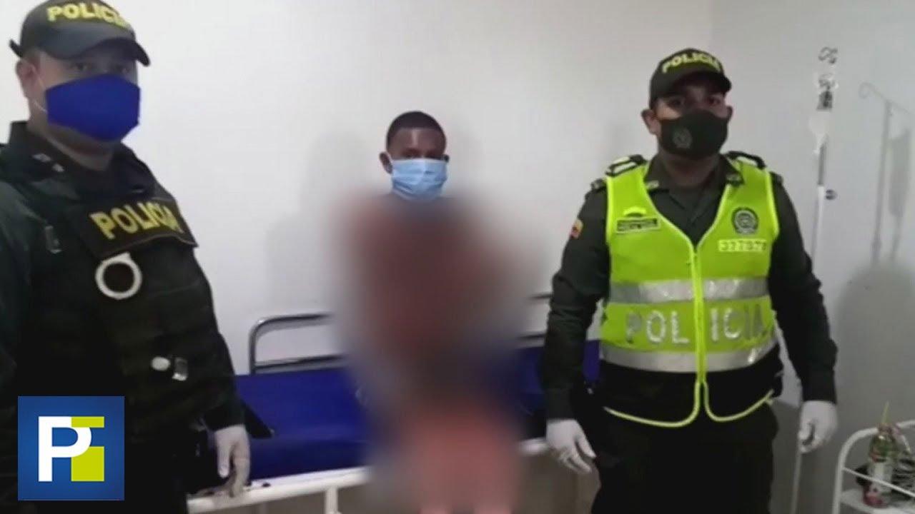 Hombre es acusado de quemar su casa con familiares porque su pareja le pidió protegerse del covid-19
