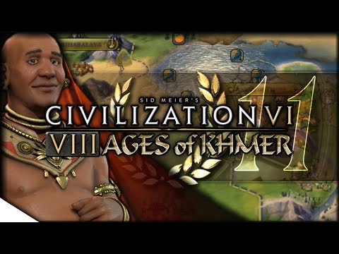 Et Tu, Gilgamesh? | Civilization VI — 8 Ages of Khmer 11 | Terra Emperor