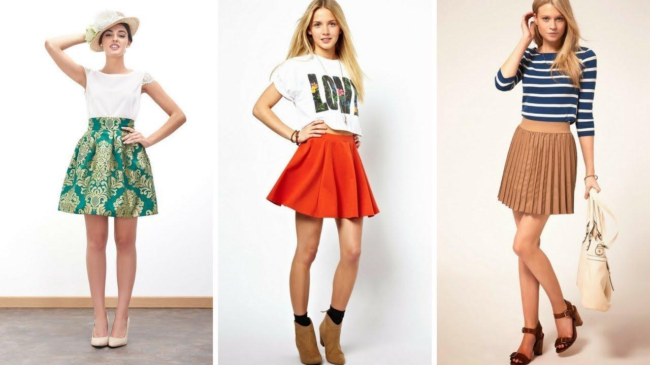 el más nuevo f07fb 1cfa2 FALDAS CORTAS Y BLUSAS ♥ #Moda #Fashion #Faldas #Blusas