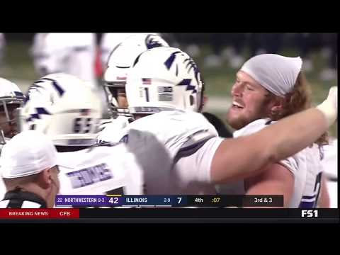 Football - Illinois Game Highlights (11/25/17)