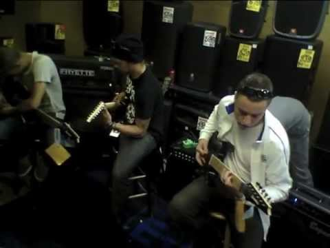 AftertheBurial jammin@Steve's Music Store