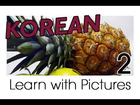 Vui học tiếng Hàn chủ đề trái cây