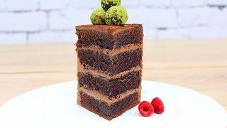 Шоколадный Бисквитный Торт Вкуснейший / Chocolate Sponge Cake