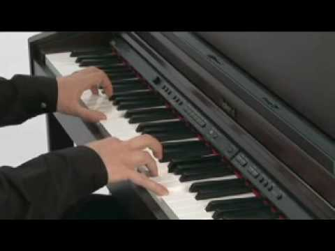 roland hp 203 digital piano rosewood youtube. Black Bedroom Furniture Sets. Home Design Ideas