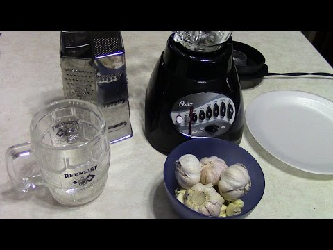 DIY GARLIC JUICE FOR ALL YOUR FRESH & SALTWATER FISH TANK & ALL REEF CRITTERS