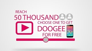 Please Please Subscribe for get free smartphones and more amazing videos of DOOGEE smartphone!