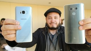 Samsung Galaxy S8 vs LG G6: Quick Comparison at Samsung Unpacked 2017