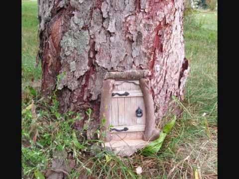 Making wooden fairy gnome doors pt 2 youtube How to make a fairy door out of clay