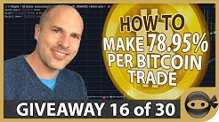 Make Money Trading Bitcoin (simple RSI strategy)