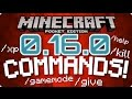 ✔️MCPE 0.16.0 COMMANDS! // How to use commands in MCPE 0.16.0 TUTORIAL [Minecraft PE 0.16.0]