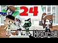 Ignoring my brothers for 24 hours ||Gacha Life Challenge|| glv