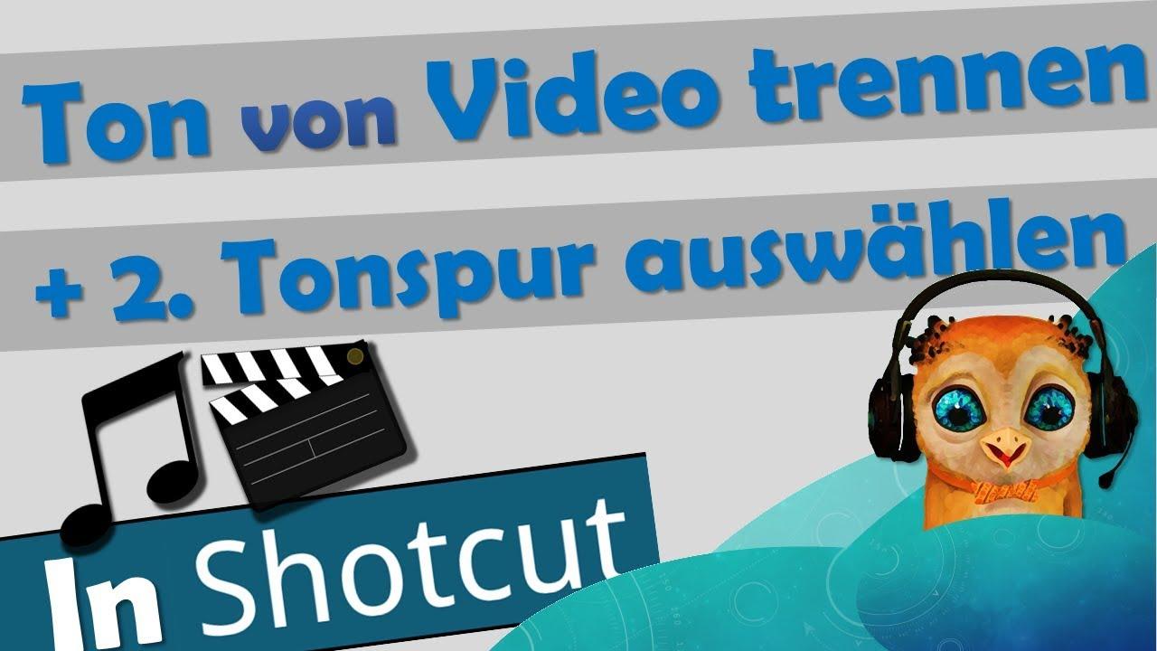 Tonspur Von Video Trennen