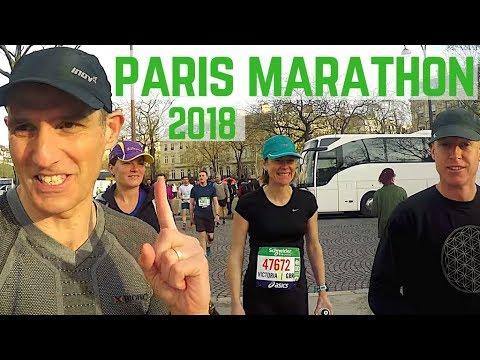 Paris Marathon 2018   Pacing My Wife