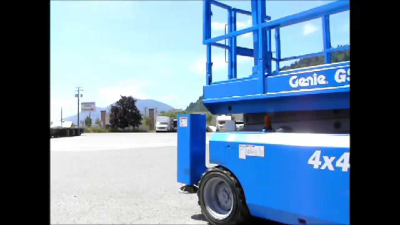 2007 Genie Gs 3268 Rt Scissor Lift With Outriggers Stabilizers For 3232 Wiring Diagram Sale