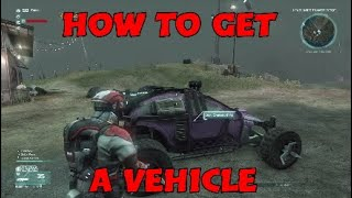 How To Get A Vehicle - Defiance 2050