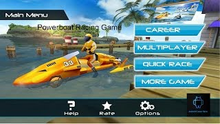 Powerboat racing game is the best free boat games of racing | free boat games of speed boat games