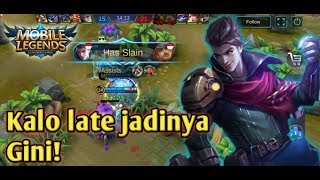 Claude KALO LATE GAME! X top Global Claude Mobile Legends