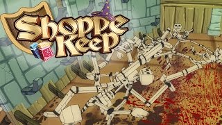 Shoppe Keep Gameplay - Killing Customers! - Let's Play Shoppe Keep Part 1