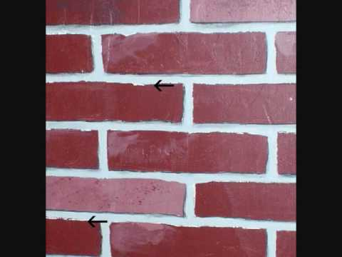 Painted faux brick tutorial youtube - Painted brick exterior pictures set ...