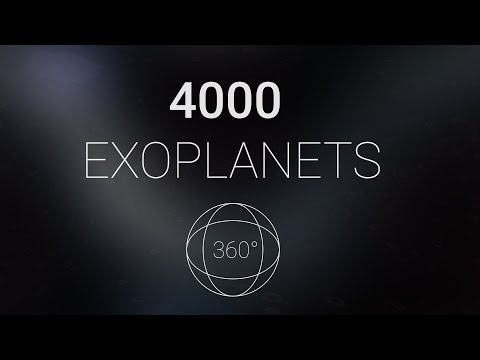 4,000 Exoplanets in 360°   Discovery Timelapse from 1992 to 2019