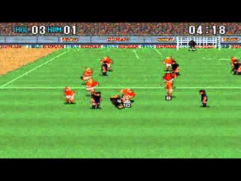 Super Formation Soccer 2 : Holland VS Human