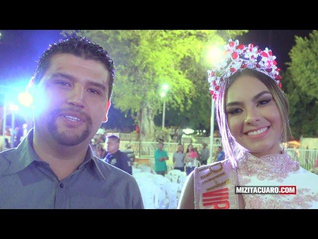 Diana Laura Díaz reina de las Fiestas Tradicionales de Pascua Tuzantla 2017